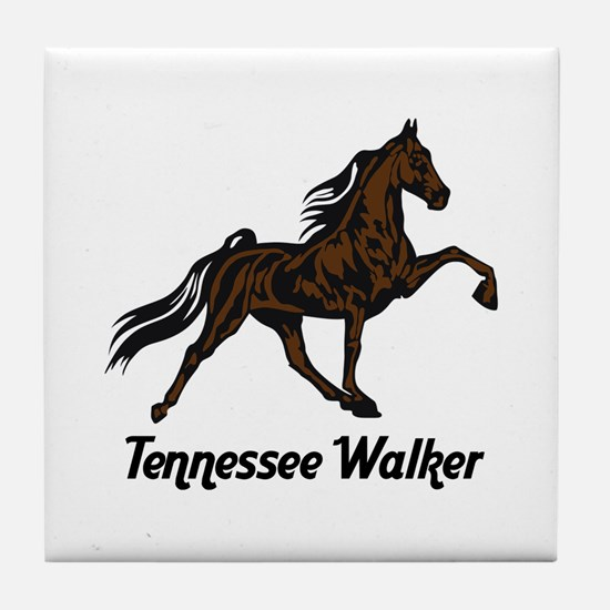 Tennessee Walker Tile Coaster