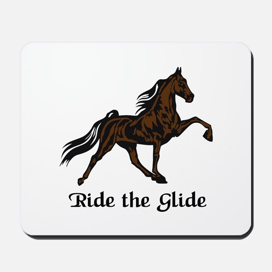 Ride The Glide Mousepad