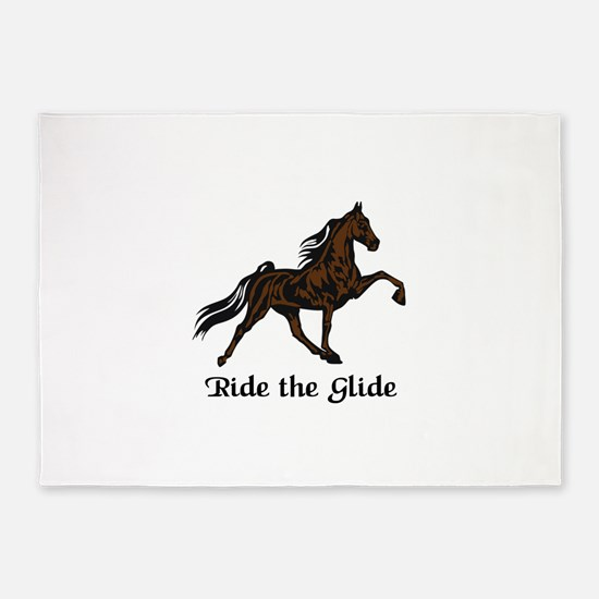 Ride The Glide 5'x7'Area Rug