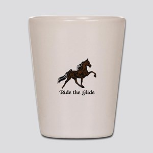 Ride The Glide Shot Glass