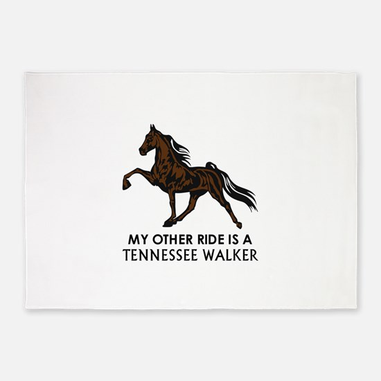 Ride Is A Tennessee Walker 5'x7'Area Rug