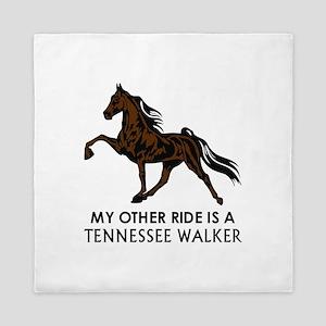 Ride Is A Tennessee Walker Queen Duvet