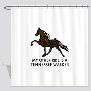Ride Is A Tennessee Walker Shower Curtain