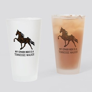 Ride Is A Tennessee Walker Drinking Glass