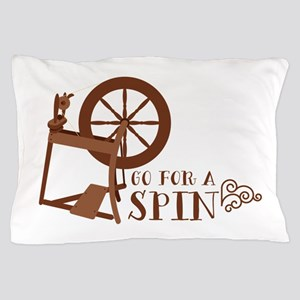 Go for a Spin Pillow Case