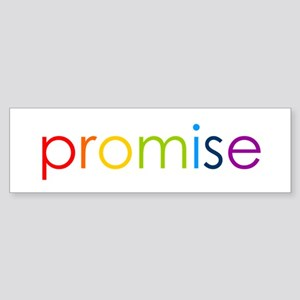 Rainbow Promise Bumper Sticker