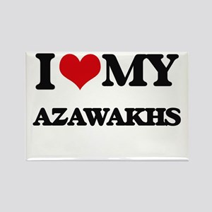 I love my Azawakhs Magnets