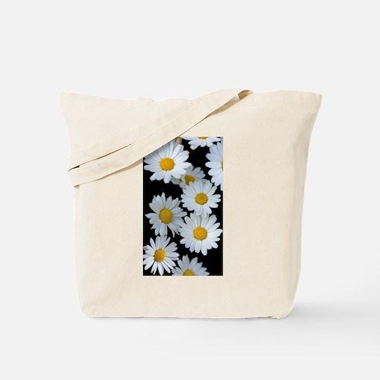 black daisy Tote Bag