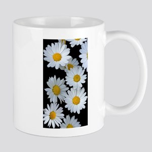 black daisy Mugs
