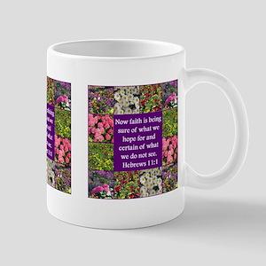BIBLE HEBREWS 11:1 Mug