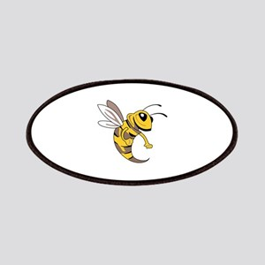 YELLOW JACKET MASCOT Patches