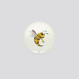 YELLOW JACKET MASCOT Mini Button