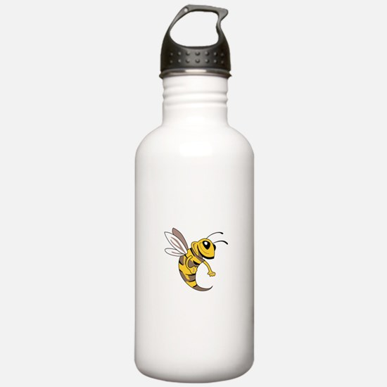 YELLOW JACKET MASCOT Water Bottle