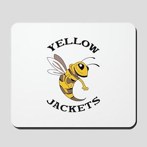 YELLOW JACKETS Mousepad