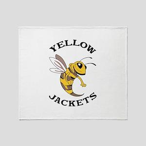 YELLOW JACKETS Throw Blanket