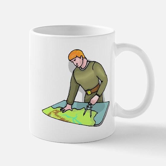Geographer Mugs