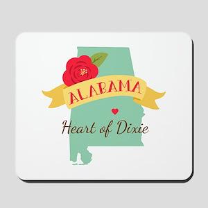 Heart of Dixie Mousepad