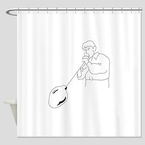 Glassblower Shower Curtain