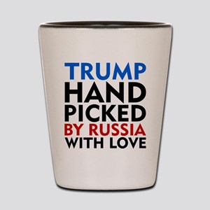 Trump Hand Picked by Russia With Love Shot Glass