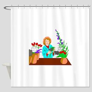 Florist Shower Curtain