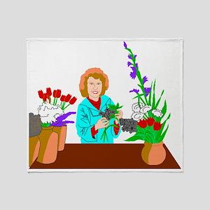 Florist Throw Blanket