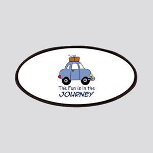 Fun Is In The Journey Patches