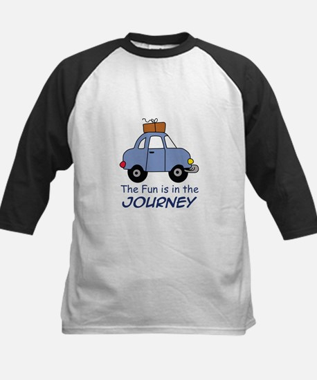 Fun Is In The Journey Baseball Jersey