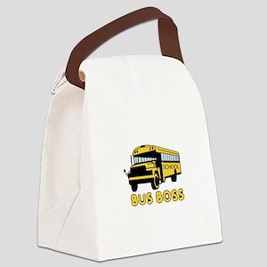 Bus Boss Canvas Lunch Bag