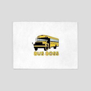 Bus Boss 5'x7'Area Rug