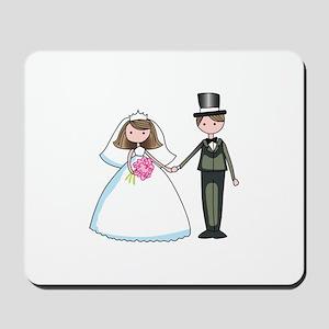 BRIDE & GROOM Mousepad