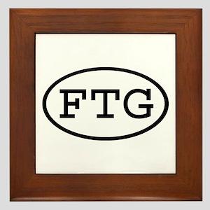 FTG Oval Framed Tile