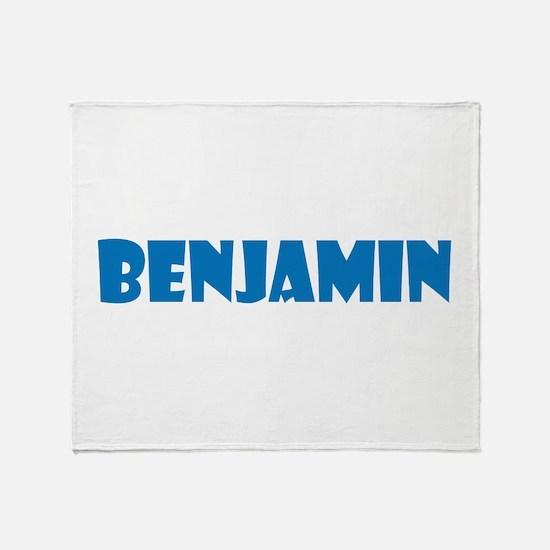 Benjamin Throw Blanket