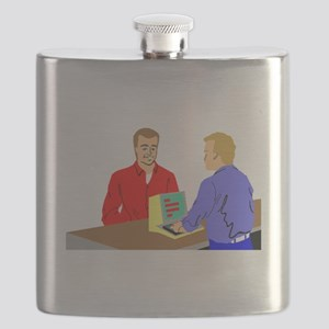 Small Business Owner Flask