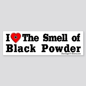 Smell of Black Powder Bumper Sticker