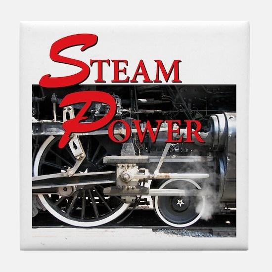 Steam Power Tile Coaster
