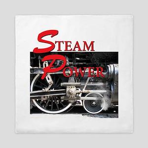 Steam Power Queen Duvet