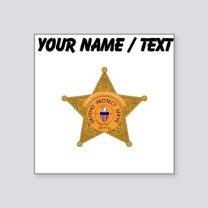 Deputy Sheriff Badge (Custom) Sticker