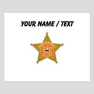 Deputy Sheriff Badge (Custom) Posters