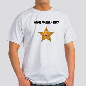Deputy Sheriff Badge (Custom) T-Shirt