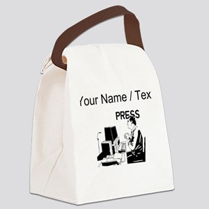 Journalist (Custom) Canvas Lunch Bag