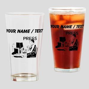 Journalist (Custom) Drinking Glass