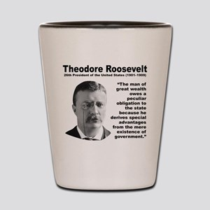 TRoosevelt Inequality Shot Glass