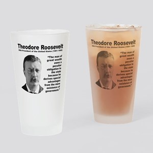TRoosevelt Inequality Drinking Glass
