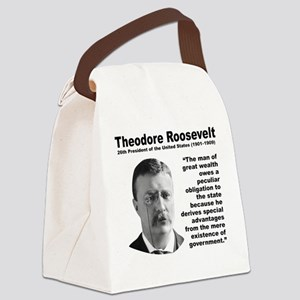 TRoosevelt Inequality Canvas Lunch Bag