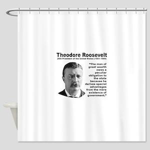 TRoosevelt Inequality Shower Curtain