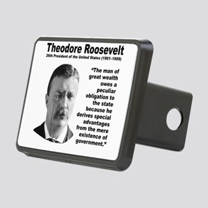 TRoosevelt Inequality Rectangular Hitch Cover