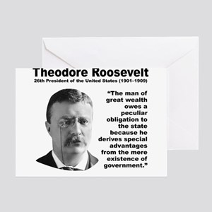 TRoosevelt Inequality Greeting Card