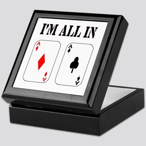 All in! Keepsake Box