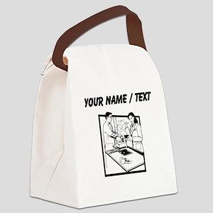 Grocery Clerk (Custom) Canvas Lunch Bag