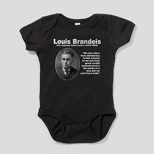 Brandeis Inequality Baby Bodysuit